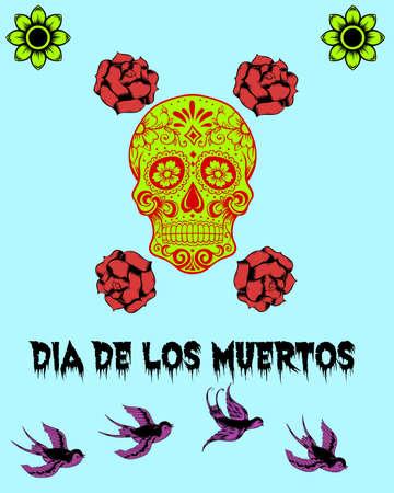 dia de los muertos: Dia De Los Muertos Stock Photo