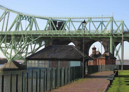 stilt house: stilt house and bridge