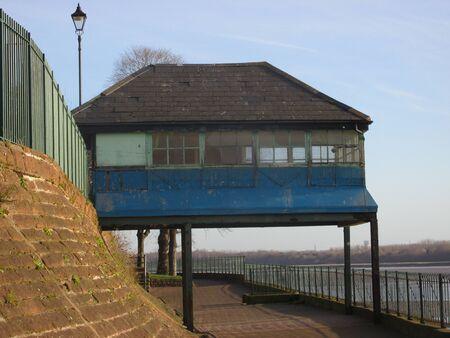 stilt house: stilt house Stock Photo