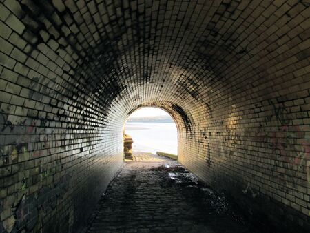 mersey: long tunnel to the river mersey