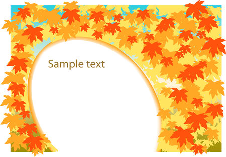r image: autunno foglia