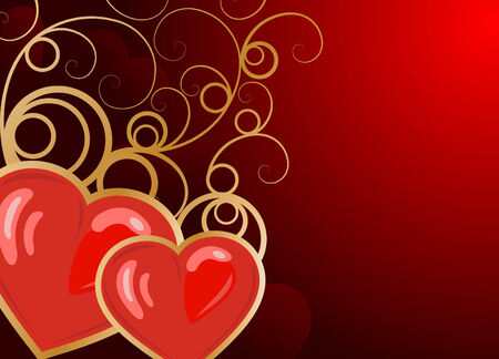 Valentine's day background Stock Vector - 6132057