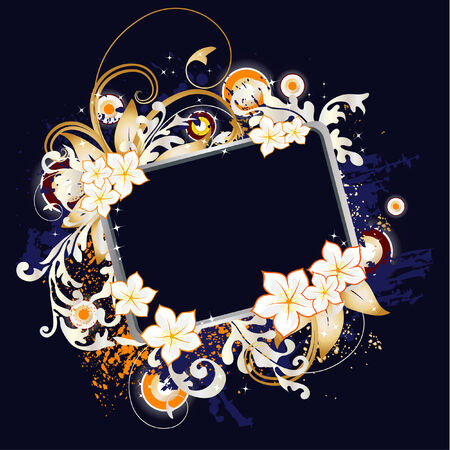 floral banner Stock Vector - 6392081