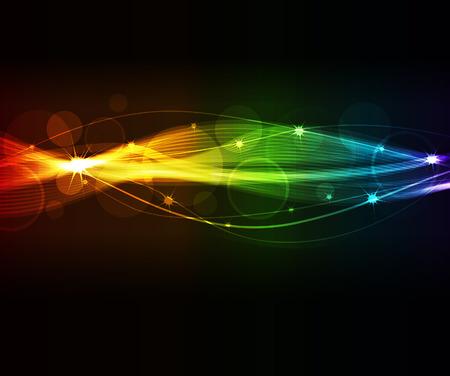 フォーマット: 抽象的な波、eps10 フォーマット