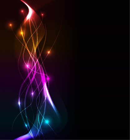 abstract wave, eps10 format  Vector