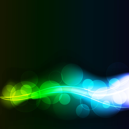abstract background with glowing dots, eps10 format Vector