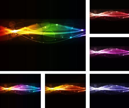 empacar: paquete de onda abstracta, formato de eps10