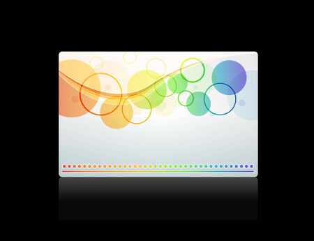 Gift card, template Stock Vector - 8340896