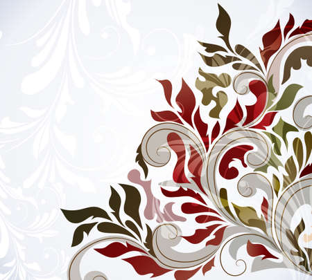 swill: Colorful floral background