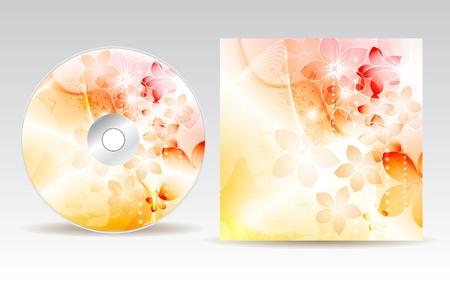 CD cover design  Stock Vector - 10458131