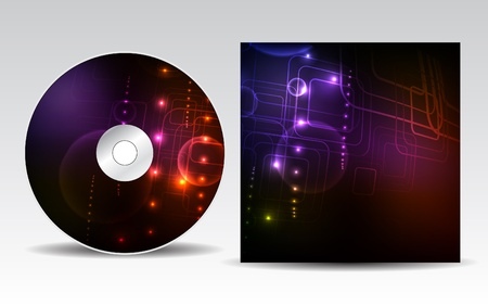 cd cover: CD cover design