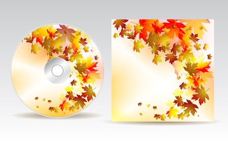CD cover design  Stock Vector - 10458096