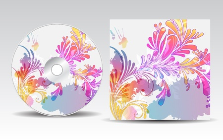 an inflorescence: CD cover design