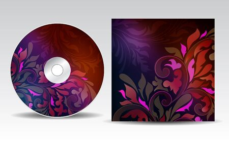 inflorescência: CD cover design