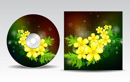 CD cover design  Stock Vector - 10518512