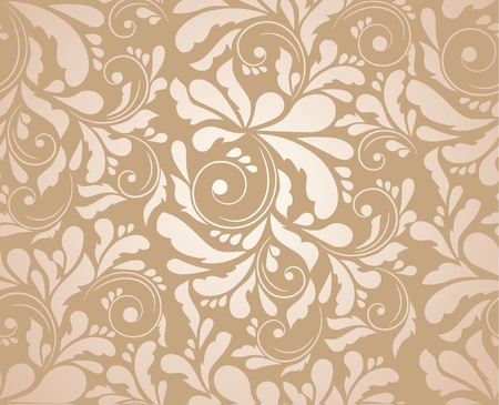 Seamless floral pattern Stock Vector - 11582778