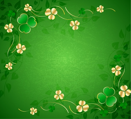 leaf shape: St. Patrick