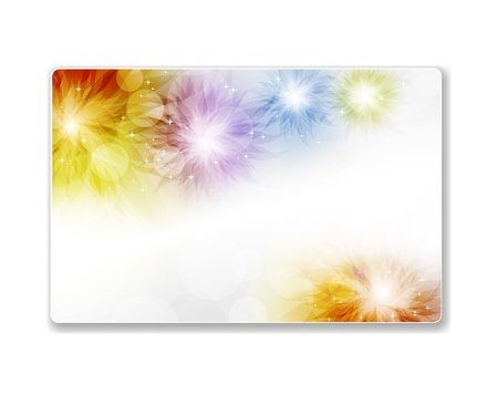 Beautiful gift card Stock Vector - 13890903