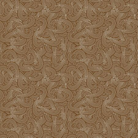 Swirl abstract seamless pattern Vector