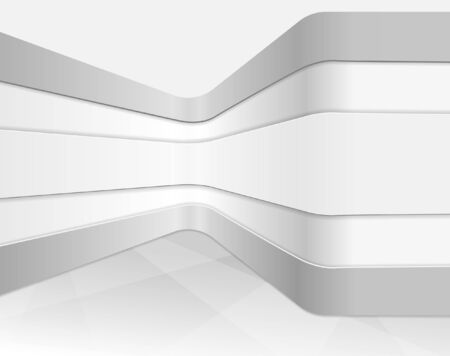 furniture shop: Vector interior wall, abstract architectural background Illustration