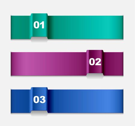 Moderne infographics template Stock Illustratie