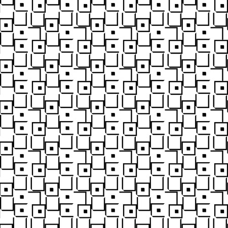 mishmash: Seamless geometric pattern Illustration