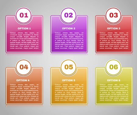 business education: Infographics template with number options for your presentation ,business, education, website, brochure and flyer