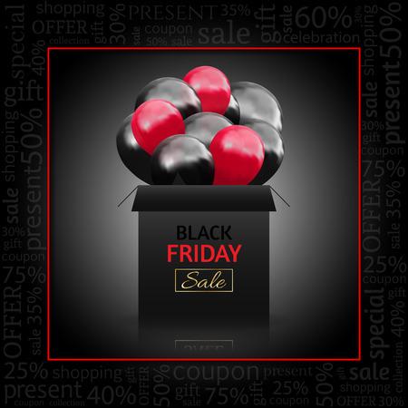 Black Friday Advertising Poster