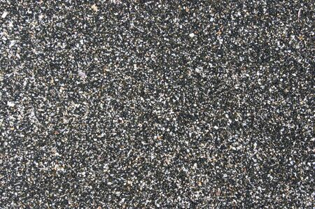 sand grains: Black And White Sand As Background. No Vignetting.