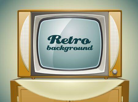 Fundo TV Vintage