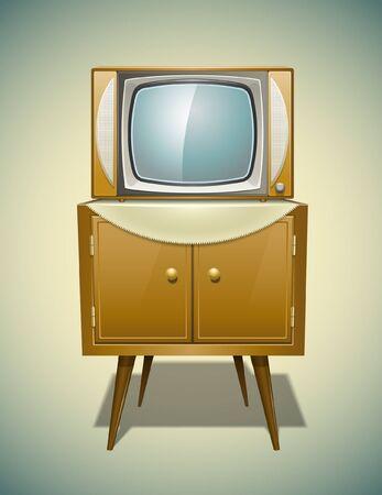 Vintage TV background
