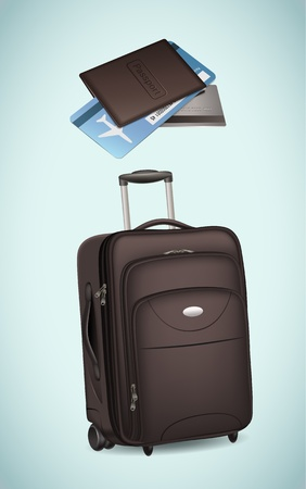 Traveling equipment Stock Vector - 17989037