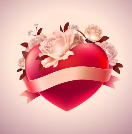 romance image: Valentine s Day Greeting card