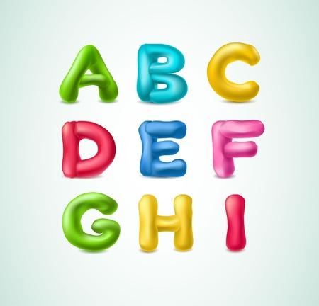 plasticine: Plasticine alphabet