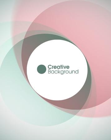 circle shape: Creative background