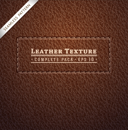 Leather texture Stock Vector - 18103154