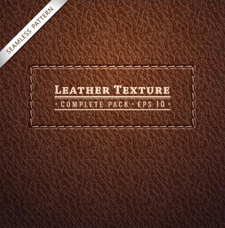 Leder textuur