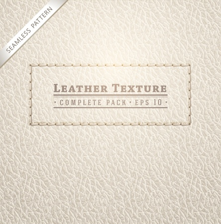 leather stitch: Leather texture