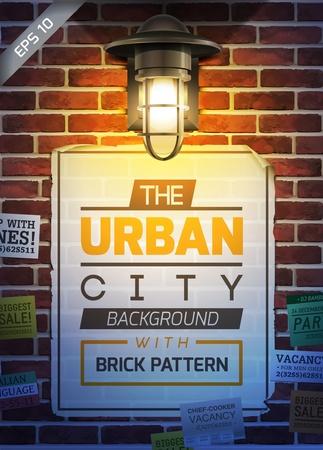Poster da parede Urban Ilustração