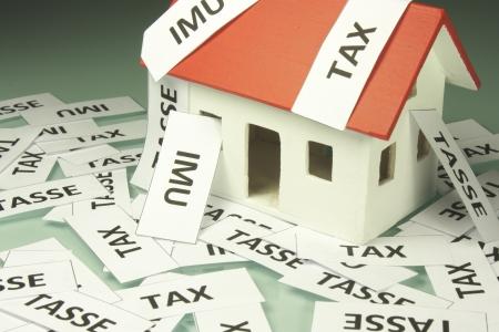 Home taxes Archivio Fotografico
