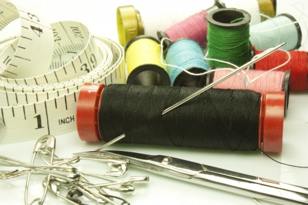 common tools for embroidery and sewing