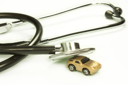 interventions: representation of certain work tools of doctor and mechanic