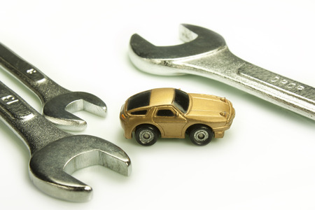 interventions: representation of certain work tools of  mechanic