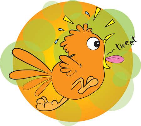 tweeting: tweeting bird