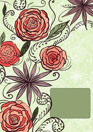 pinstripes: Flower background