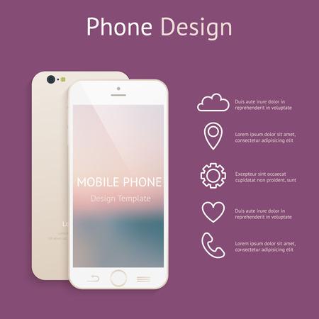 Telefoon bespotten up voor uw ontwerp