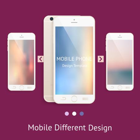 mock up: Phone mock up for your design