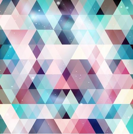 asterism: Geometry galaxy background , vector illustration Illustration