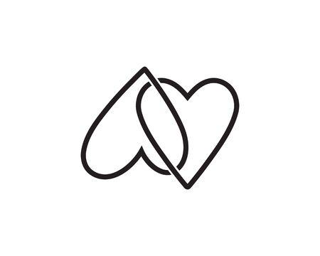 vortex circle logo and symbols template icons app Zdjęcie Seryjne - 128973656