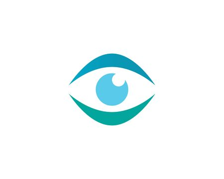 Eye care Logo Template illustration